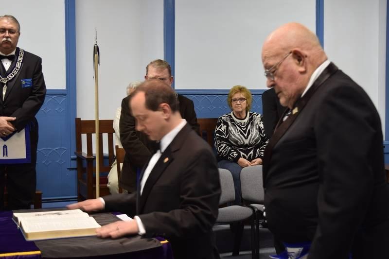 Bro Guy Calhoun installed as Secretary