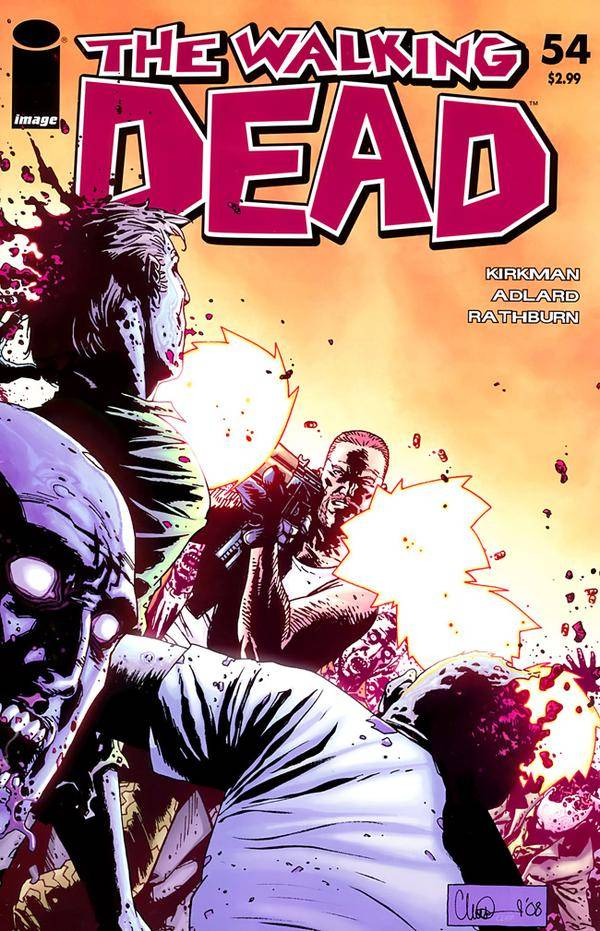 The Walking Dead # 54