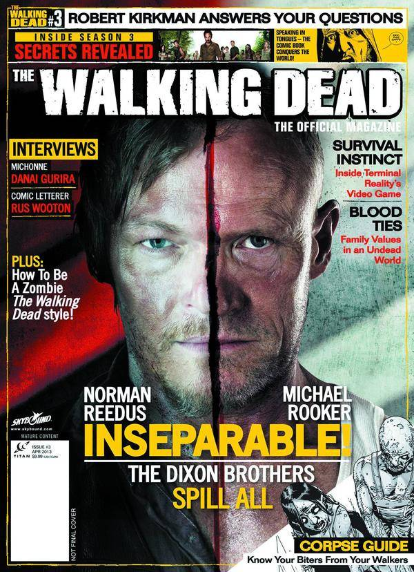 The Walking Dead Magazine # 3