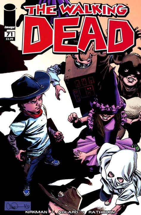 The Walking Dead # 71