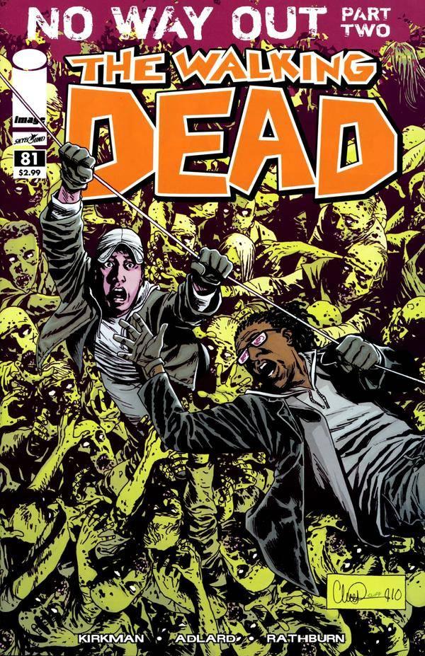 The Walking Dead # 81