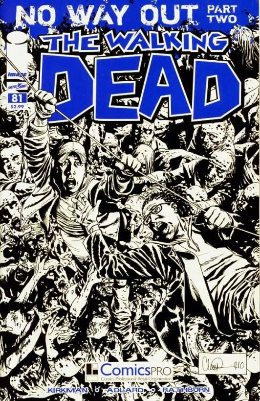 The Walking Dead # 81 comic pro variant