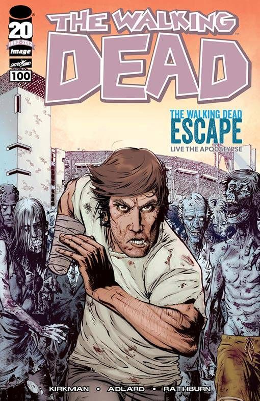The Walking Dead # 100 SDCC variant