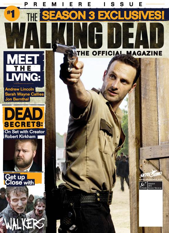 The Walking Dead Magazine # 1 NYCC variant