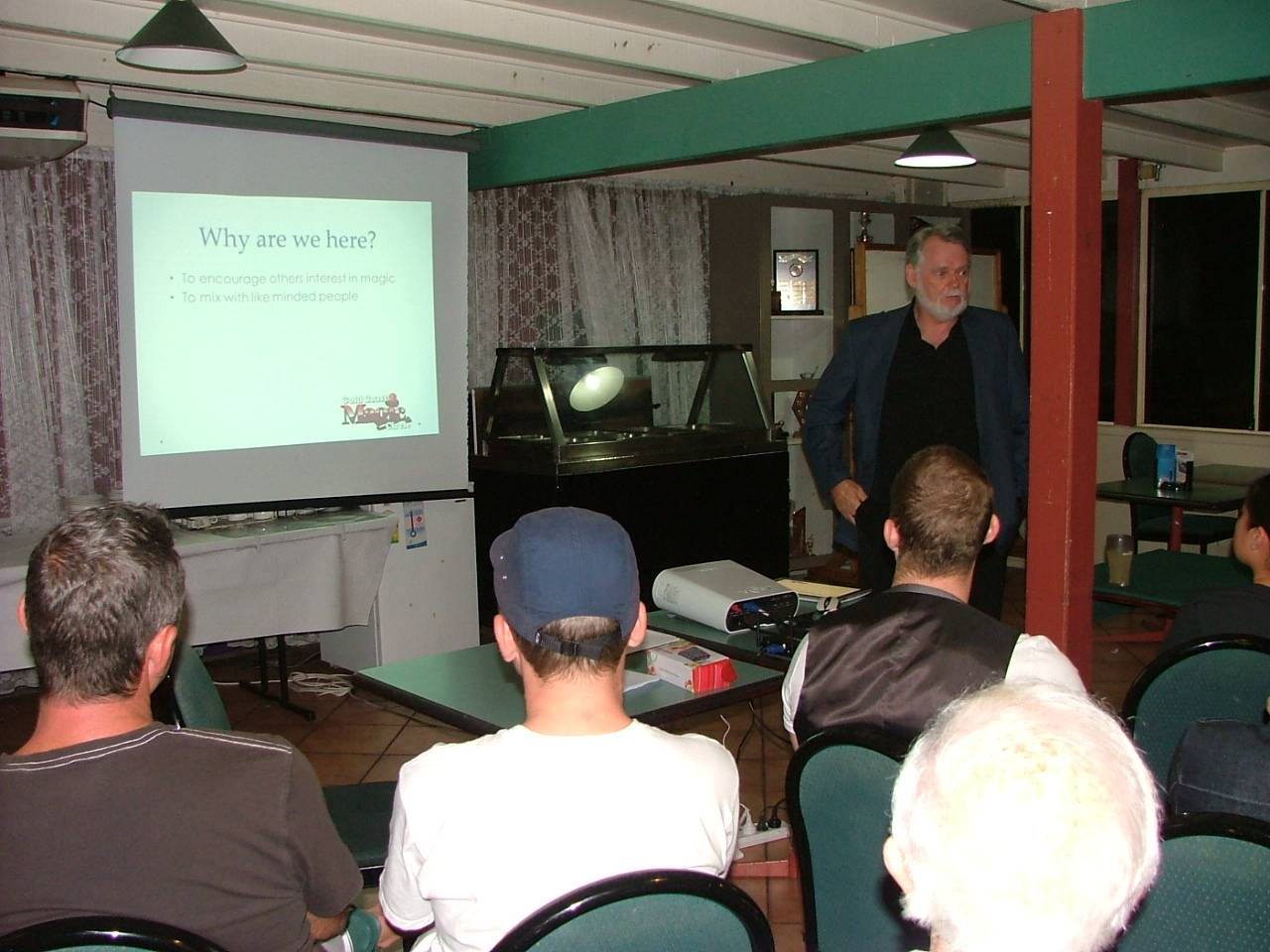 Lecture by Ian Harvey