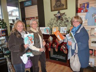 Book Signing in Barrie  December, 2011