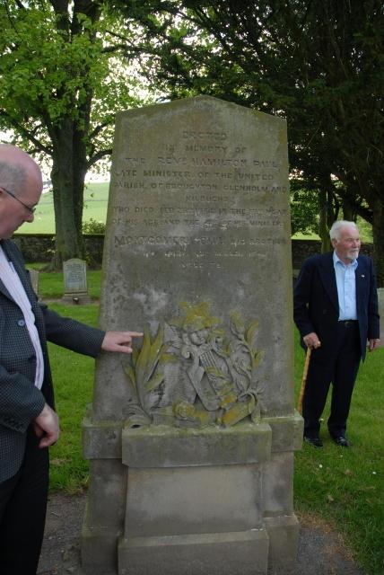 Rev. Hamilton Paul's grave.