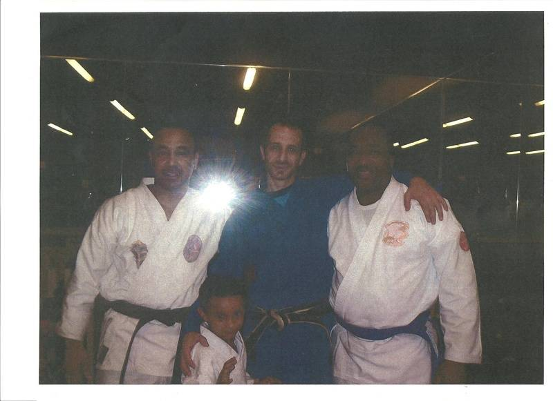 Me, my son Peter, Xavier and Allan