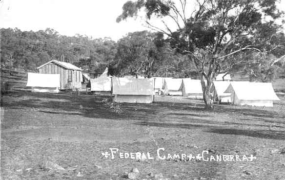 1909 Surveyors' Camp Capital Hill