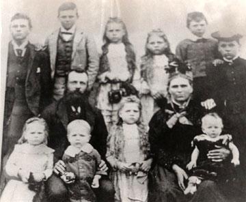 The Chapman Family circa 1896