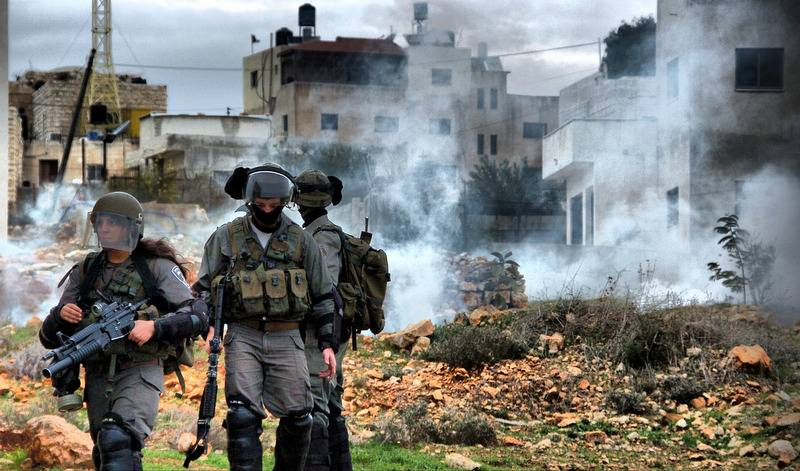 IDF in the westbank
