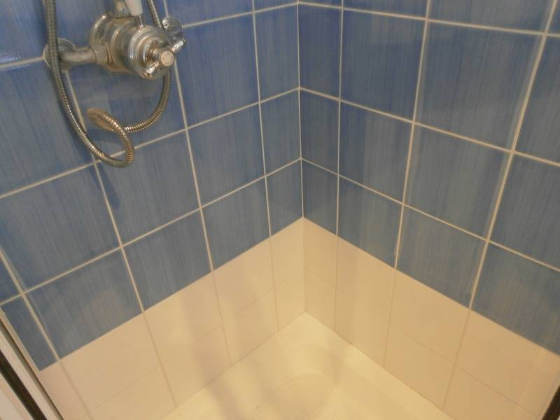 Shower repaired