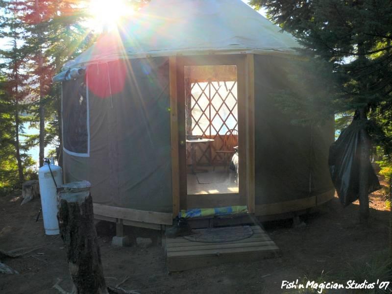 Olallie Lake Yurt