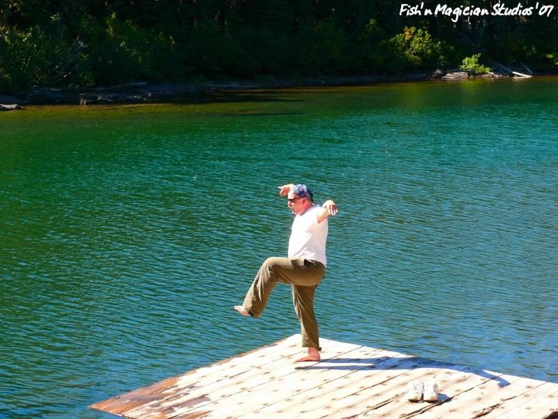 Swimming Platform - Head Lake