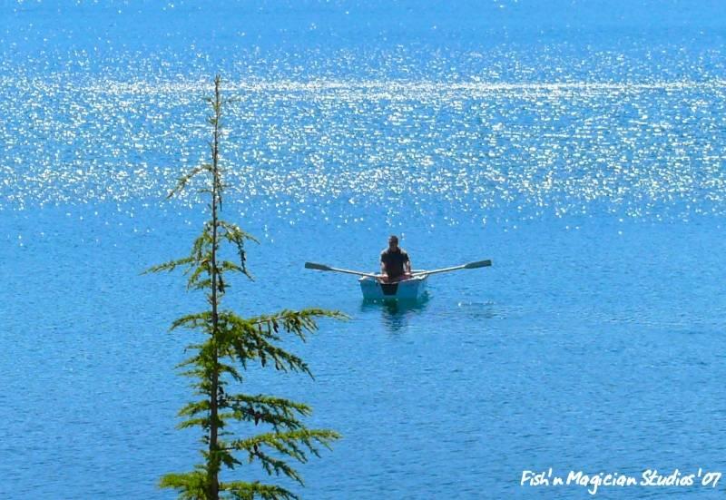 Olallie Lake Summer Boat Ride