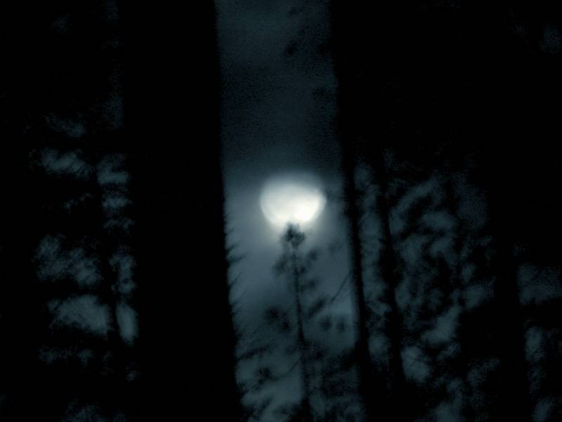 Olallie Full Moon