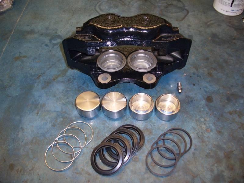 Front Brake caliper rebuild