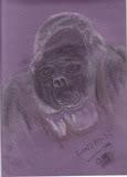 gorilla by lindann (sky)