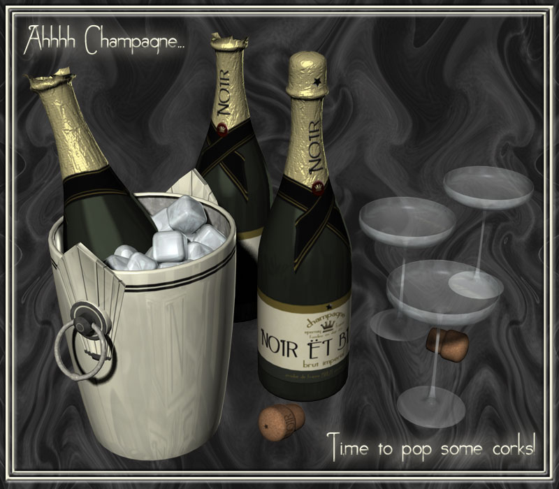 Wayhay!! Champagne!!
