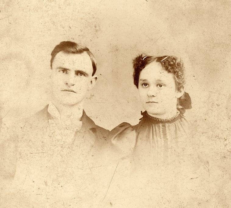 My Grandfather (Charles E. Strong & Grand Mother Carrie E. (Berkey) Strong