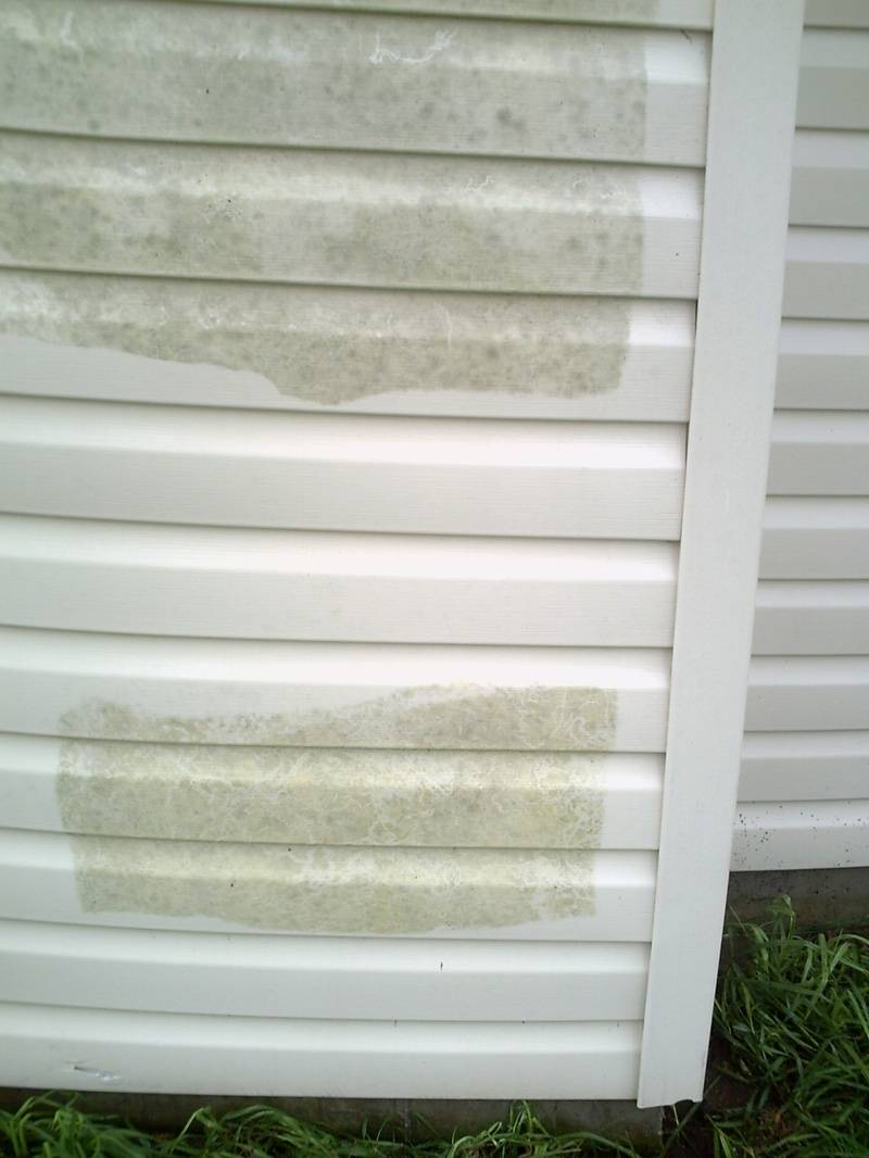 Cleaning of those layers of mildew and mold.