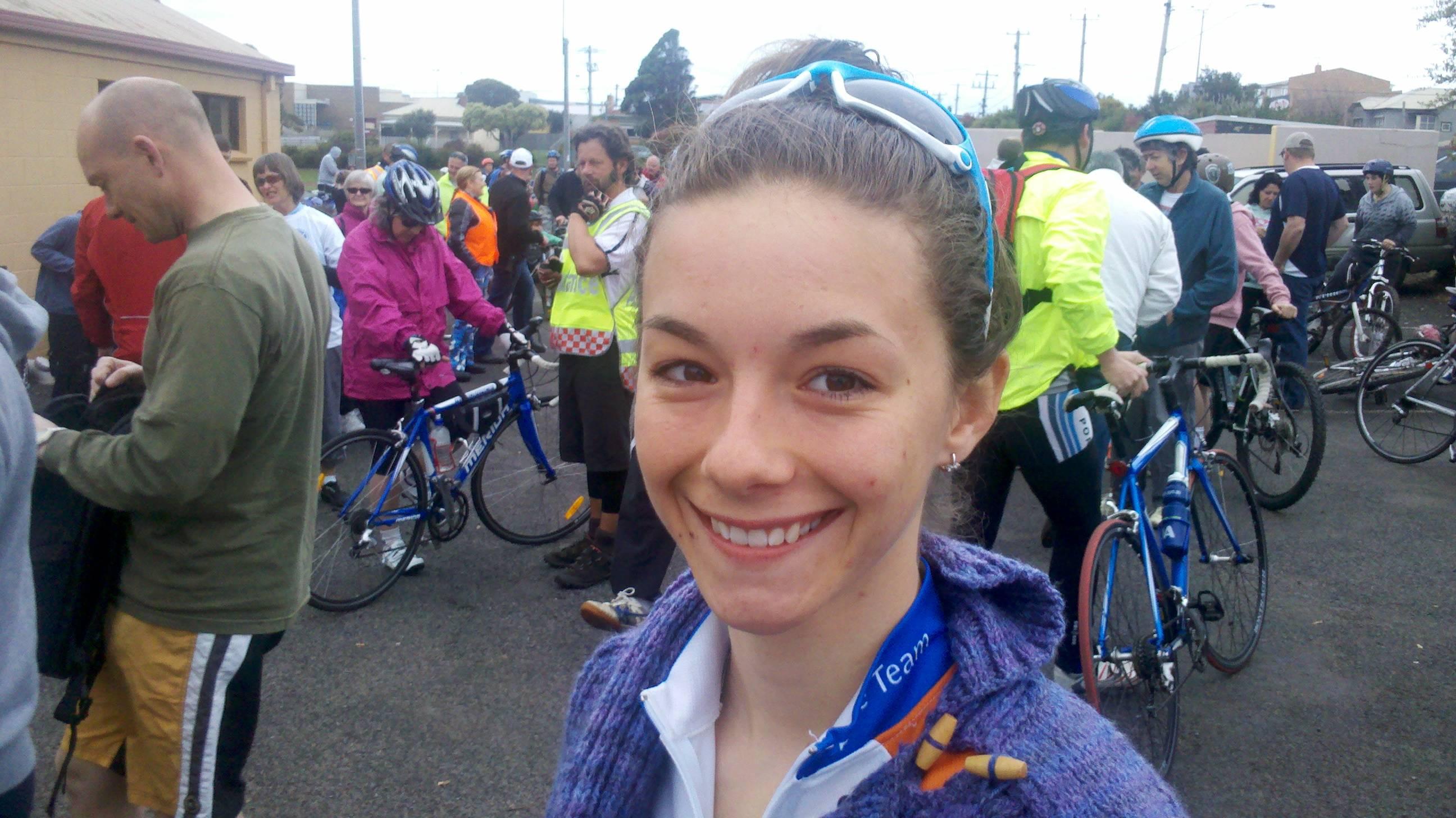 Shannon Malseed at start