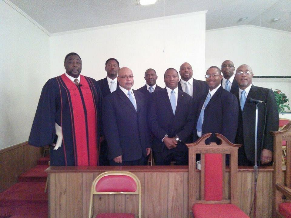 Rev. Osborne and The Male Chorus