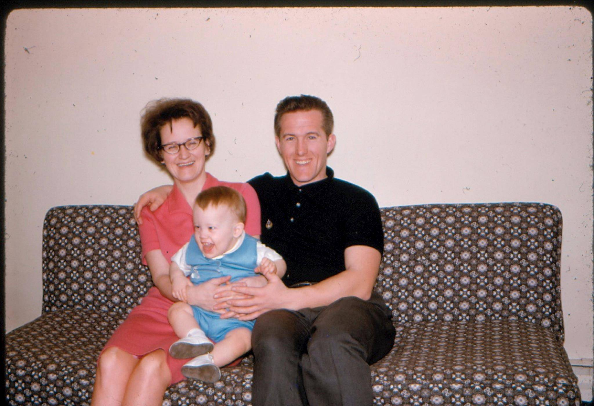Vic and Sheila in about 1969 with son Dean