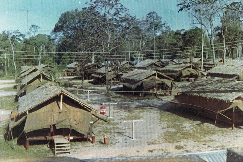 D Co. compound  1967