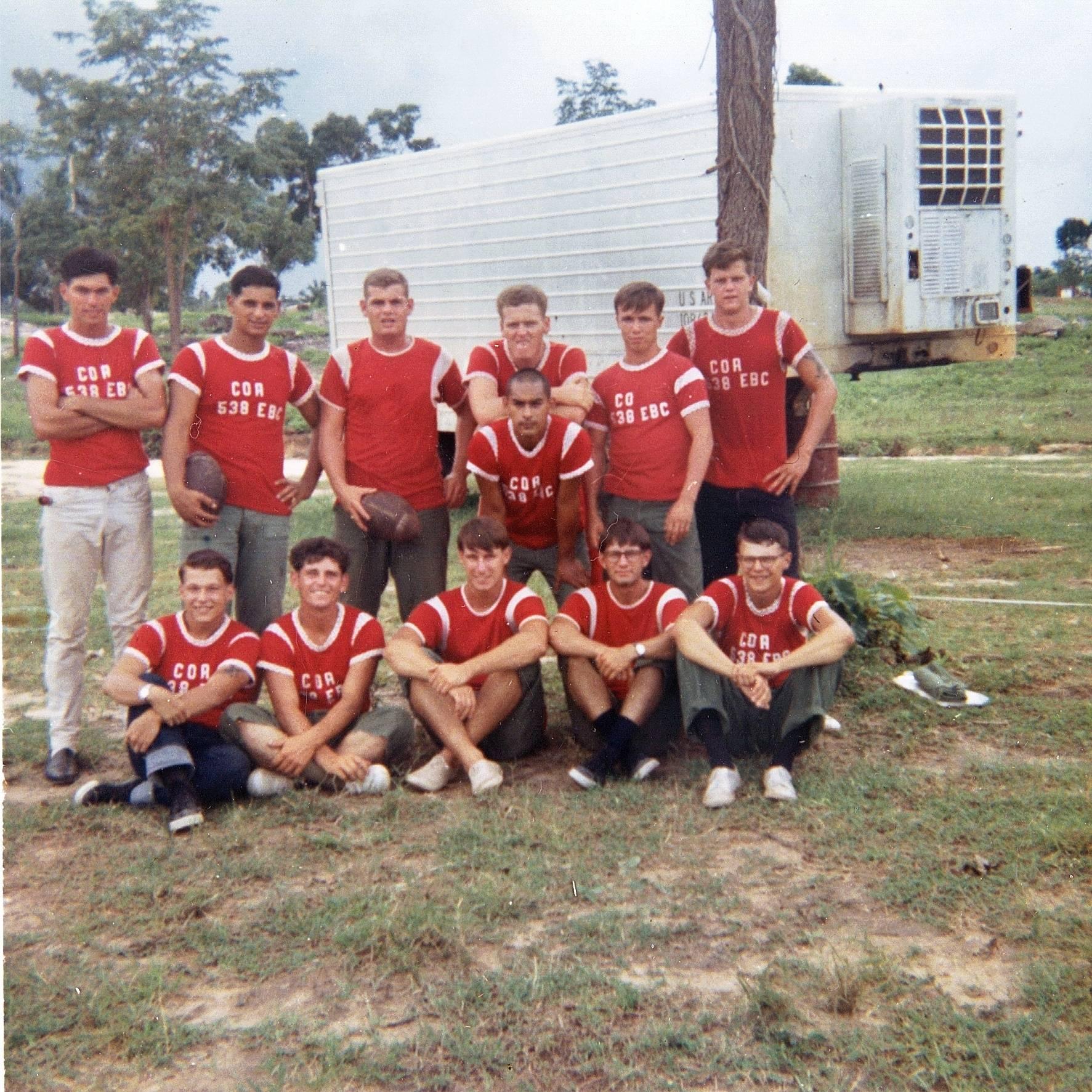 A Co. Football Team  1966