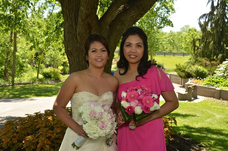 Bride and the Maid of Honour