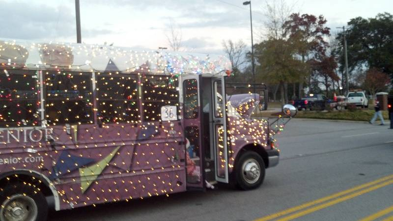 December 4, 2011 Cayce West Metro Parade of Lights