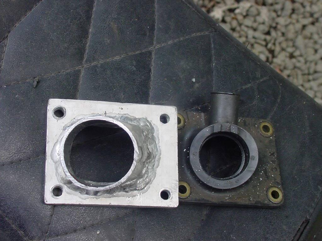 Intake manifold for Yamaha Drag Blaster