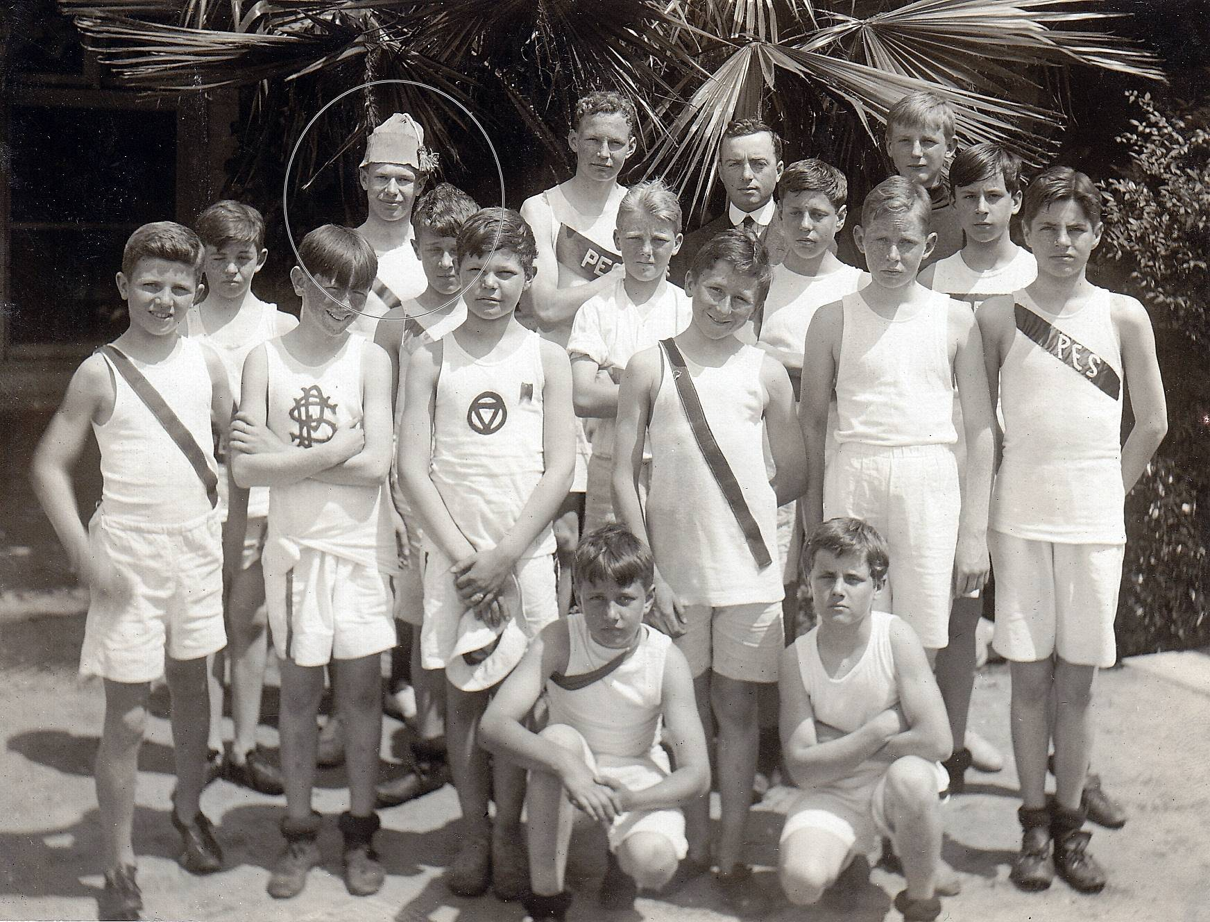 Charley's Track Team [Age 15]