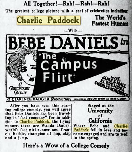 'The Campus Flirt` ad
