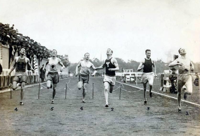 June 1924 - 200 Meter Final