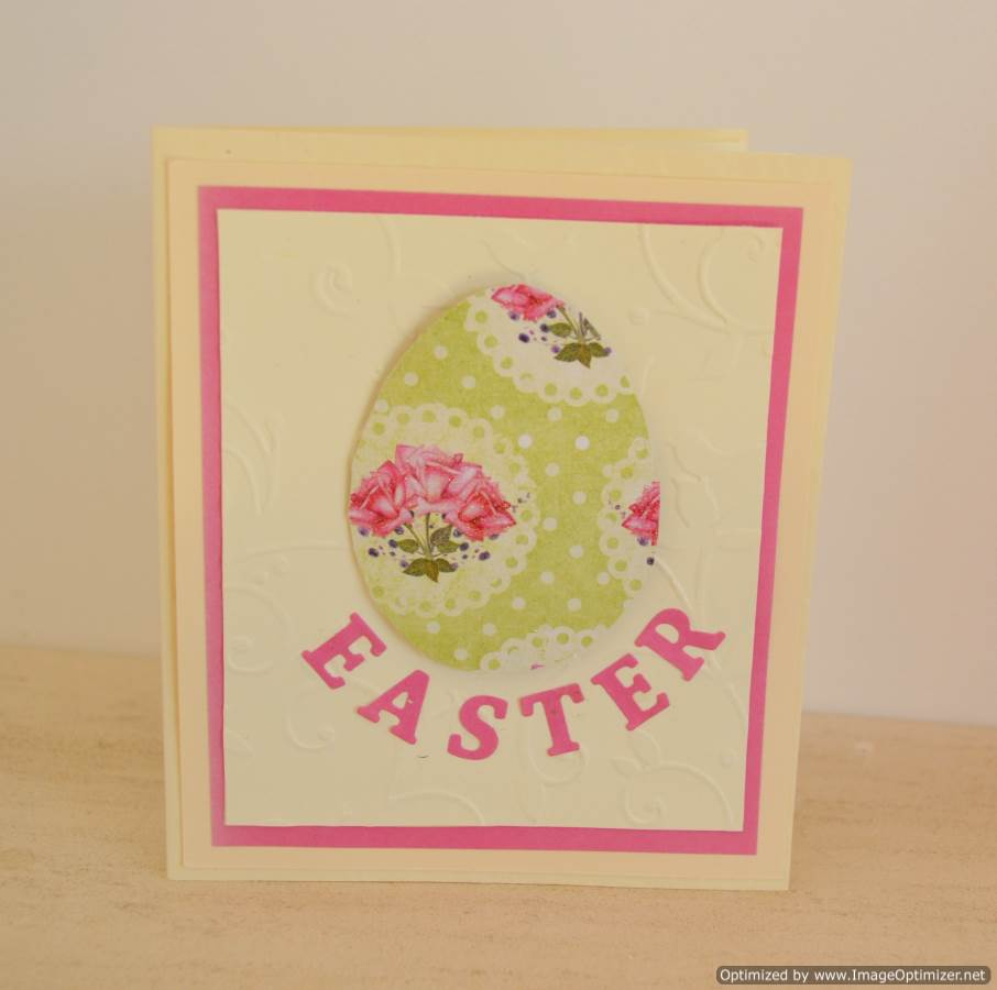 Simple Easter Greeting Card