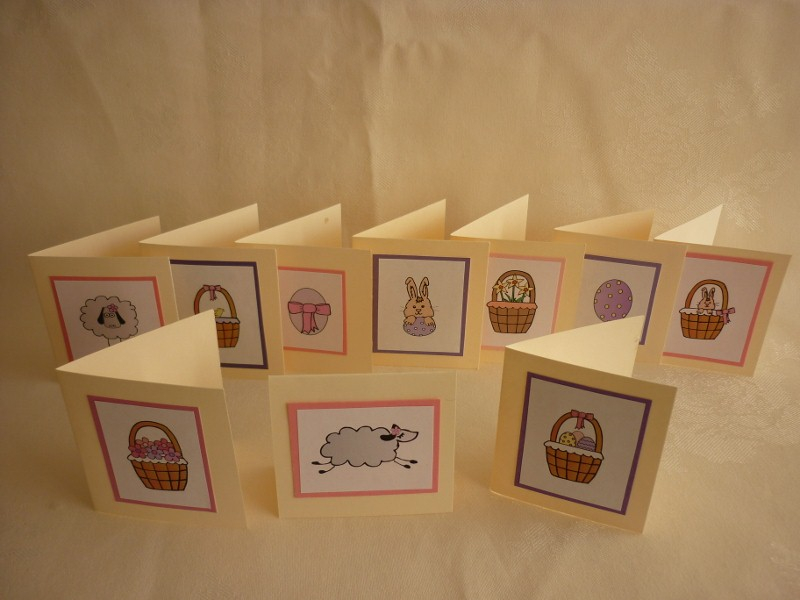 Easter Mini Cards
