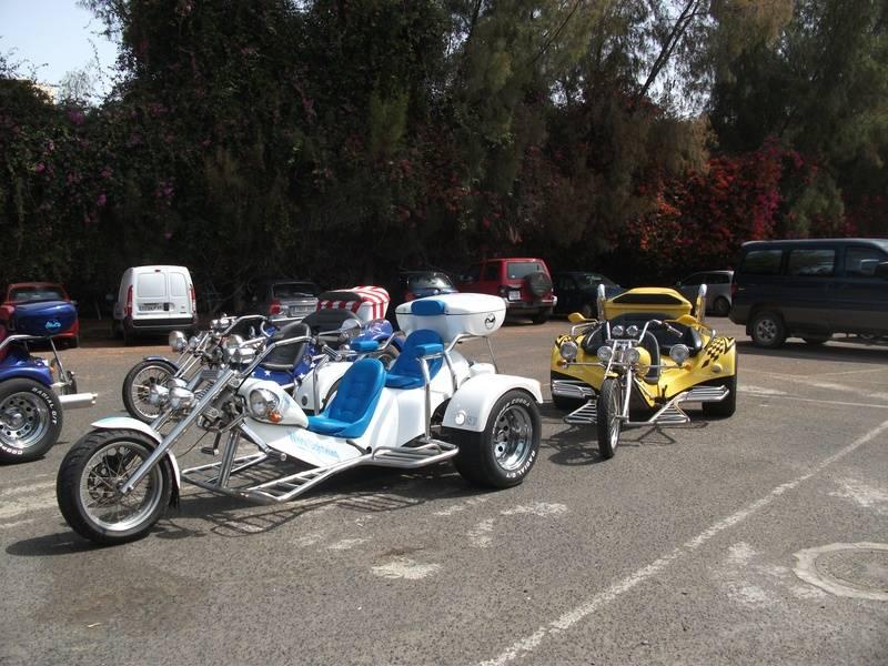 Pajara car/trike park