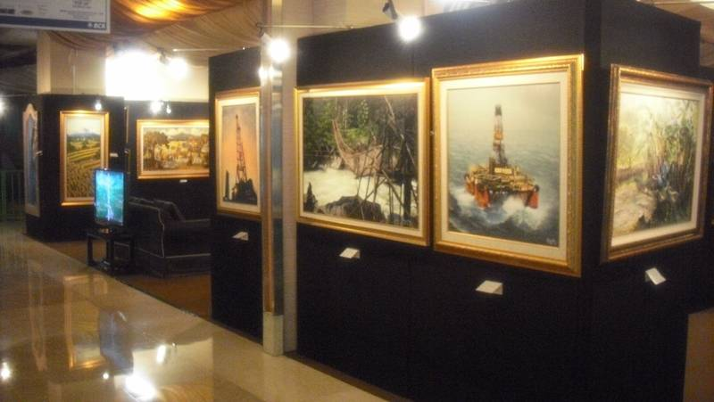 Painting Exhibition Sense Of Colours GRAND INDONESIA SHOPPING TOWN
