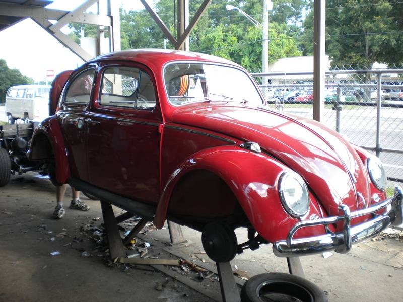 1963 Ruby Red Beetle
