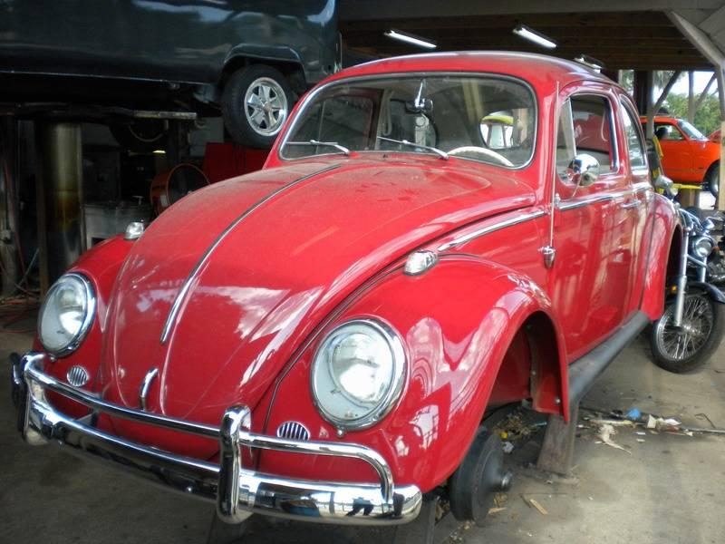 1963 Ruby Red Beetle