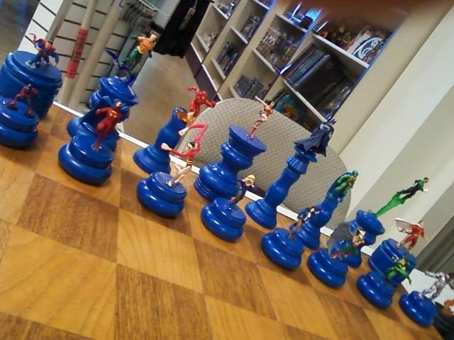 Superhero Chess Set