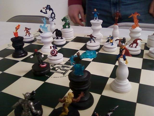 Marvel Chess Set - Fishing Pole