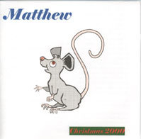 Matthew's 1st CD