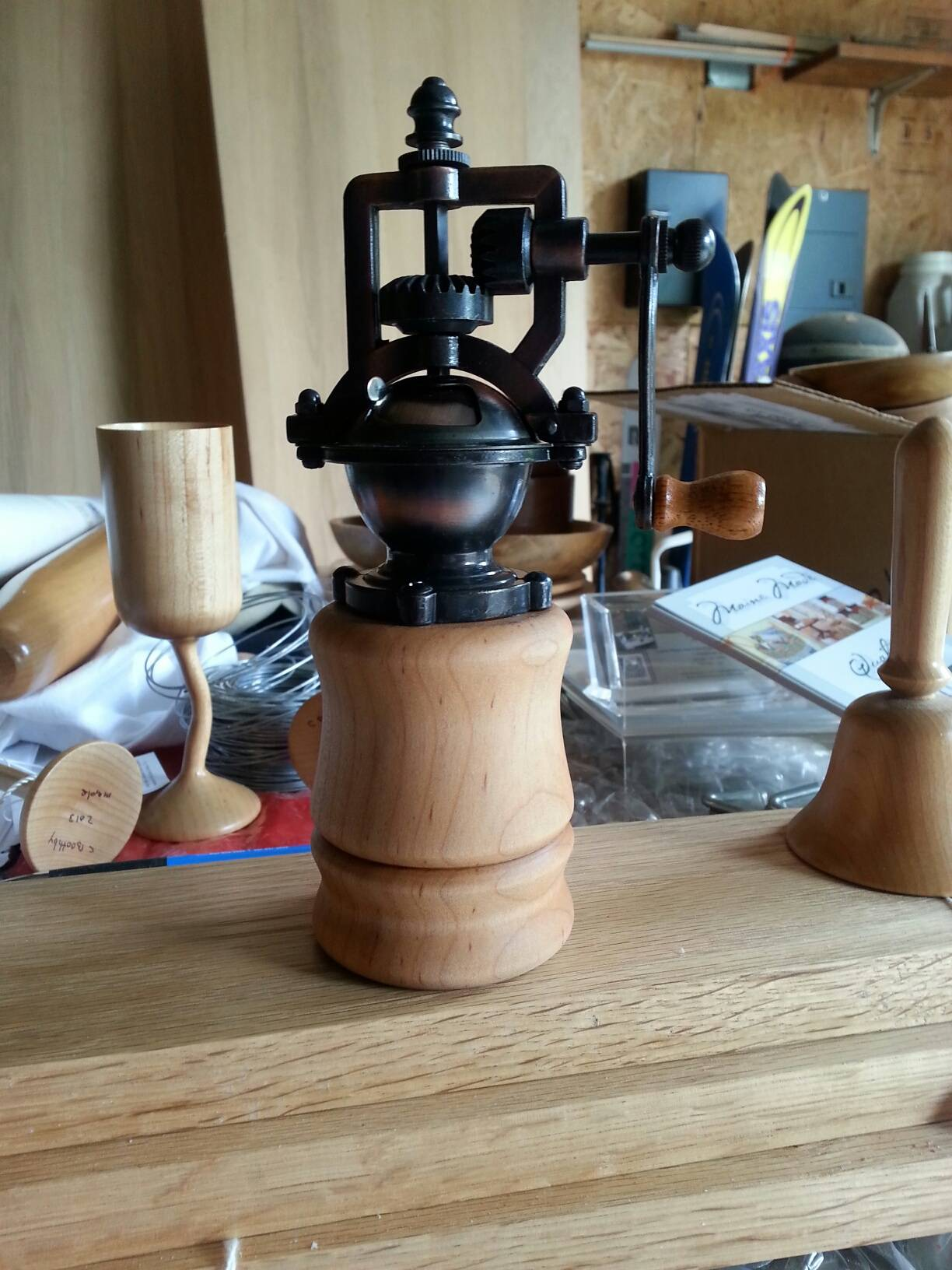 Antigue Pepper grinder