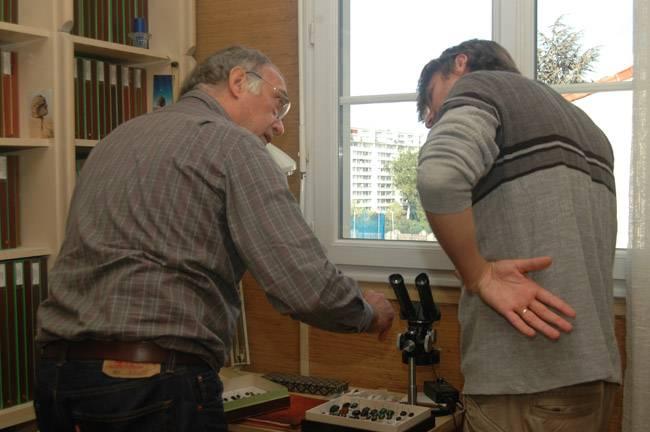 With Pierre Tauzin