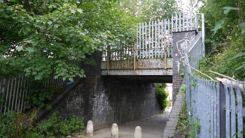 Bridge over st Paul's road