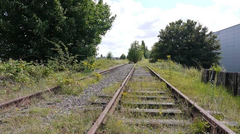 Trackbed towards Wednesbury Town