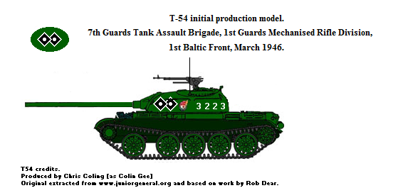 T54 first production model